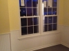 kitchen windows & wainscoating